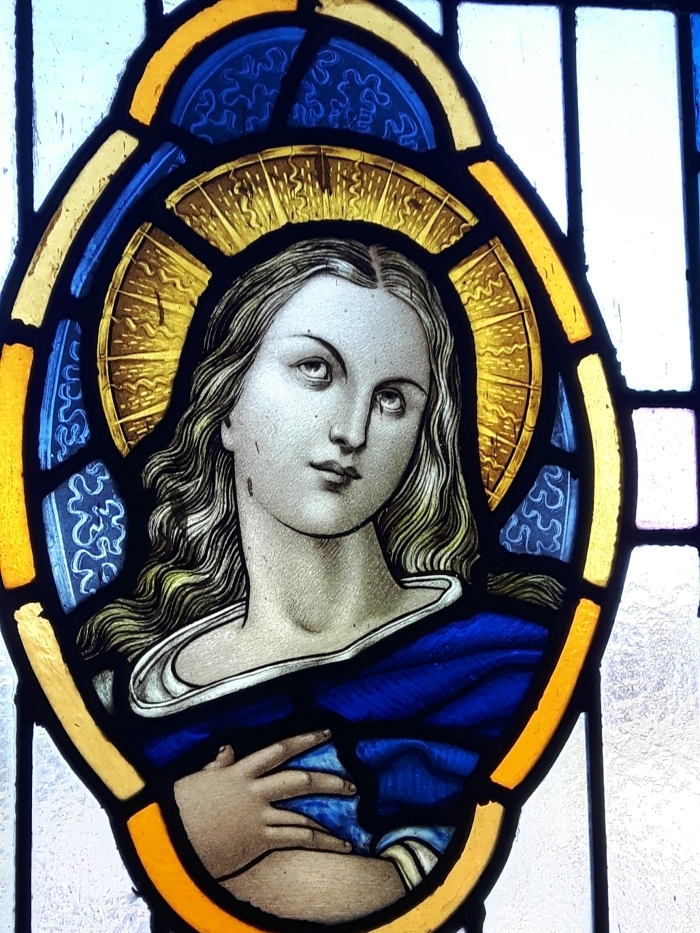 Stained Glass from Church of St John The Baptist, Kilcash, Tipperary