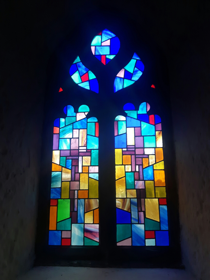 Stained Glass of Holycross Abbey, Holycross, Tipperary
