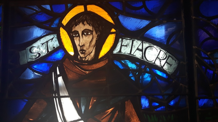 Stained Glass from St Fiacre's Church, Loughboy, Kilkenny