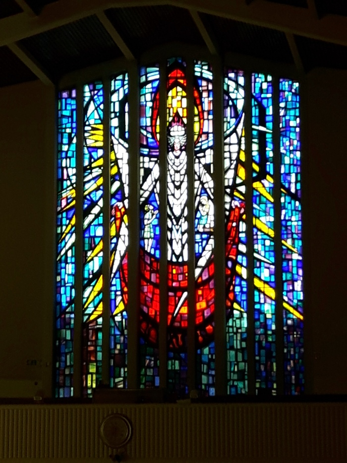 Stained Glass from Church of the Guardian Angels, Newtownpark Avenue, Dublin