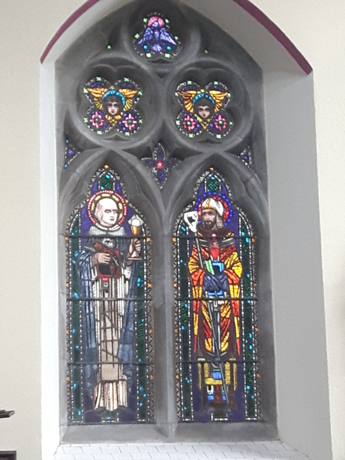 Stained glass from St Mary's Church, Killenaule