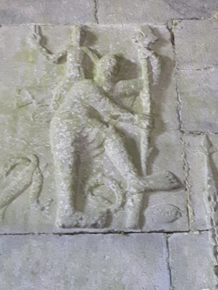 Statuary from Kilcooley Abbey,Tipperary