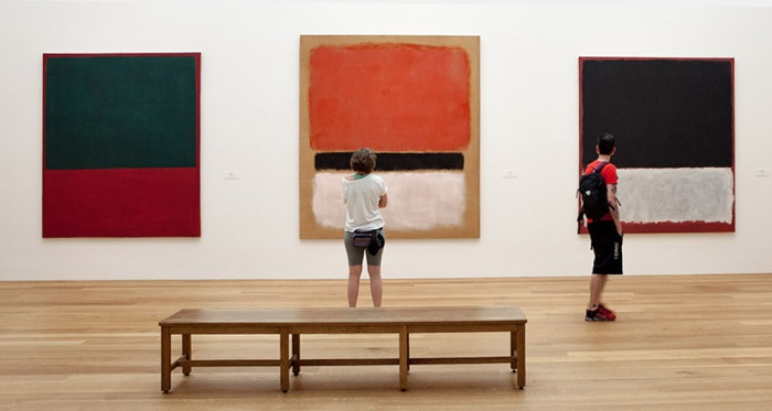 Rothko on loan to the National Gallery of Ireland
