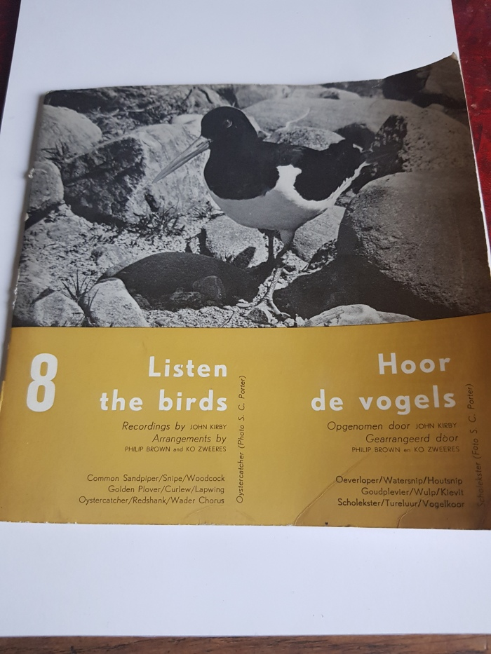 Snipe and Woodcock at 33⅓ RPM: Listen The Birds 8 / Hoor De Vogels 8