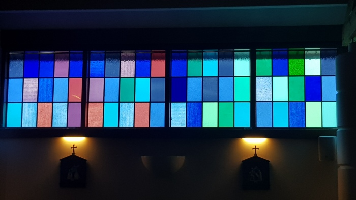 Stained Glass from St Mary's Oratory, Newtownstewart, CoTyrone