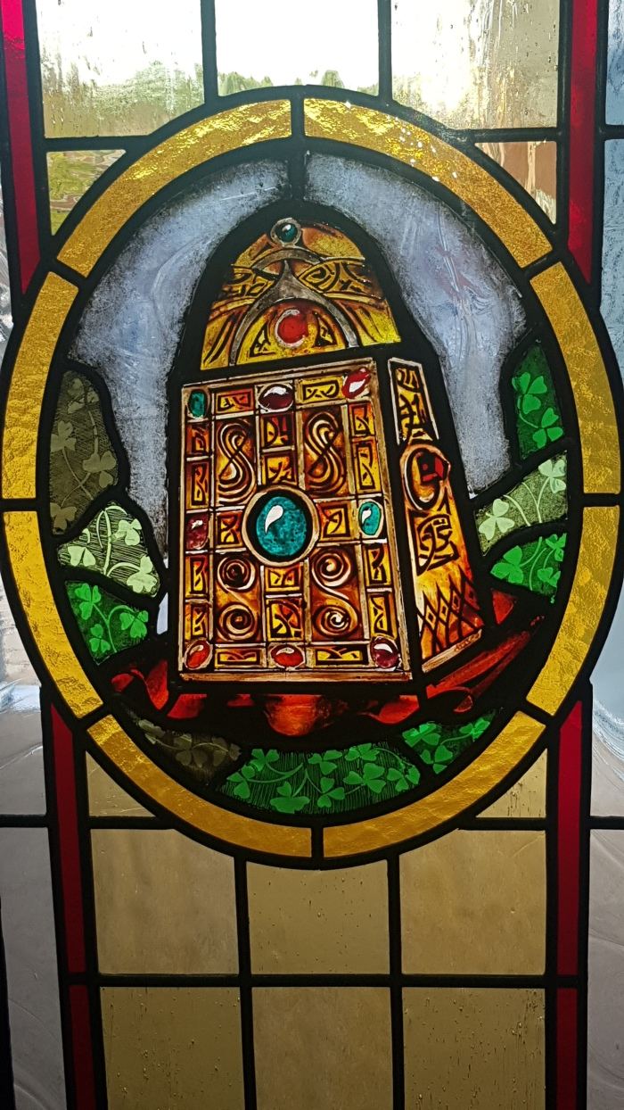 Stained Glass from St Patrick's Church, Crossmaglen (Creggan Upper Parish), Co.Armagh