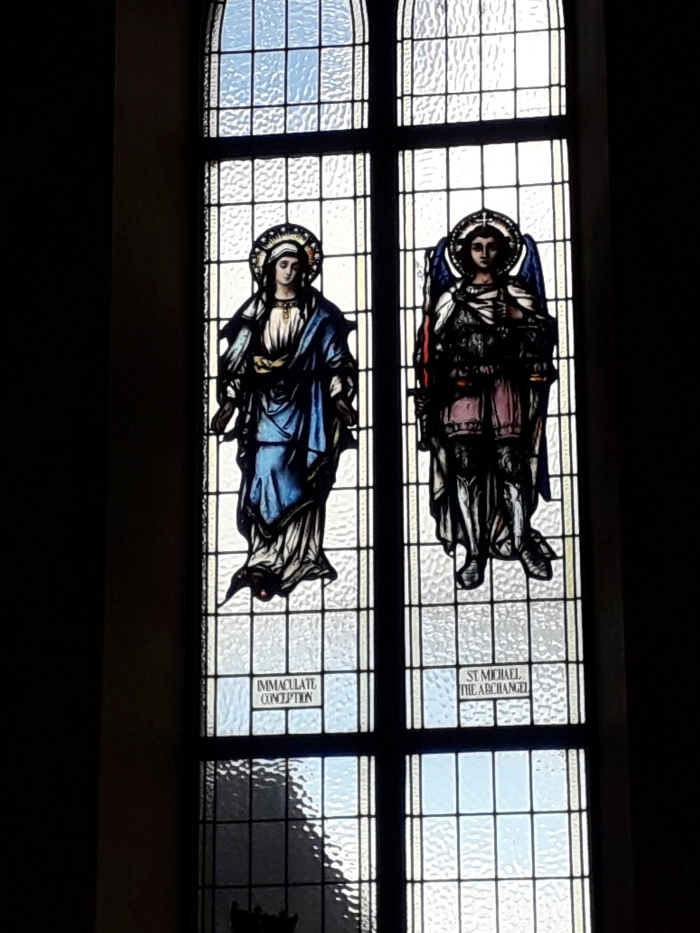 Stained Glass from the Church of the Assumption, Ballingarry, Tipperary. Part2.