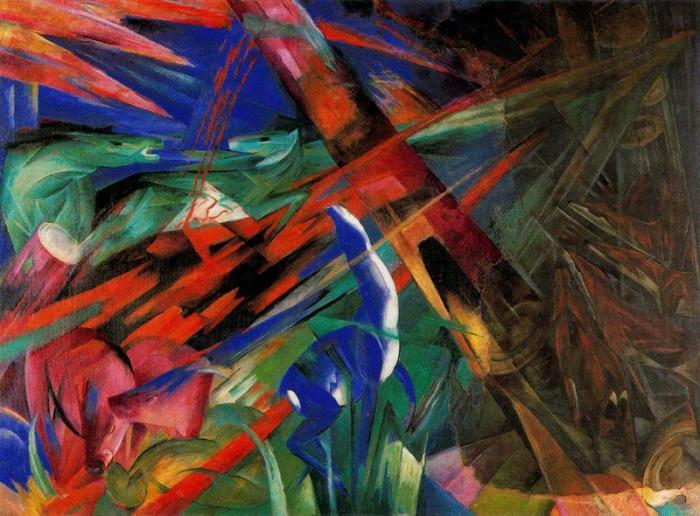 For Armistice Day: Franz Marc RIP