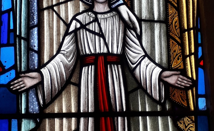 Stained Glass from Church of Our Lady of the Assumption, Newcastle, CoTipperary