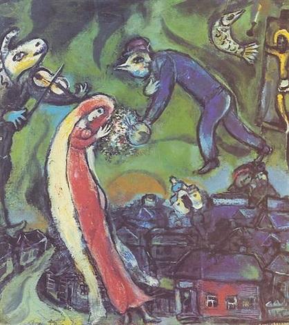 marc-chagall-lannunciation
